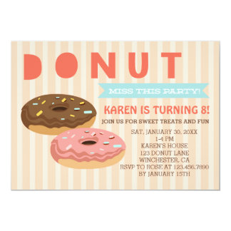 Donut miss this party - Donuts Party Invitation