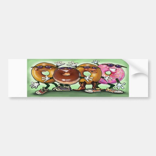 Donut Party Bumper Stickers