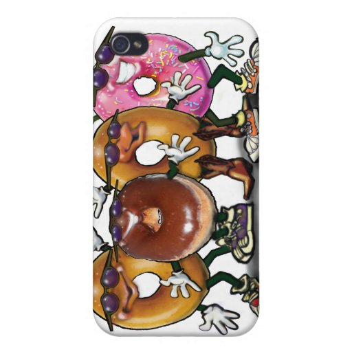 Donut Party Covers For iPhone 4
