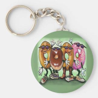 Donut Party Keychain