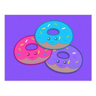 Donut Party Postcard