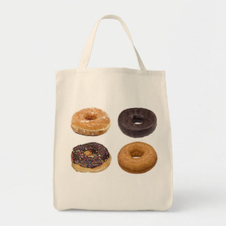 Donut photo reuseable totes