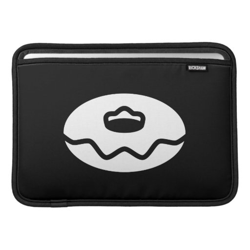 Donut Pictogram MacBook Air Sleeve
