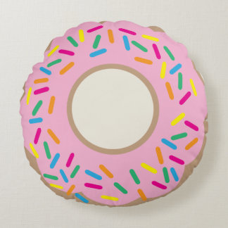 Donut Pillow Round Pillow