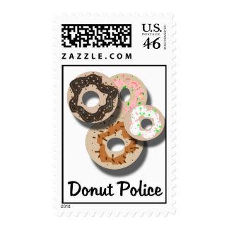 Donut Police Stamps