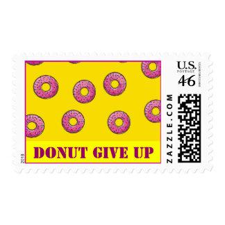 Donut postage stamp