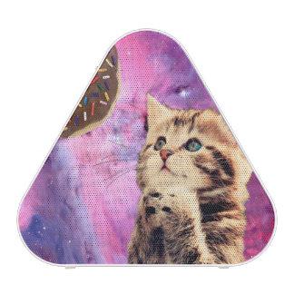 Donut Praying Cat Bluetooth Speaker