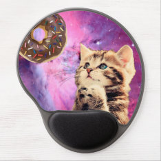Donut Praying Cat Gel Mouse Pad at Zazzle
