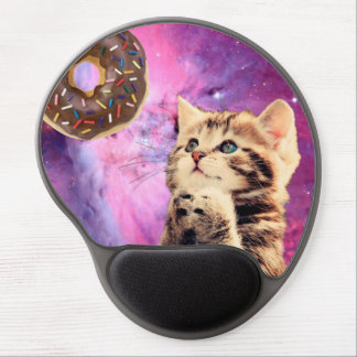 Donut Praying Cat Gel Mouse Pad