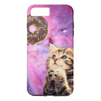 Donut Praying Cat iPhone 7 Plus Case