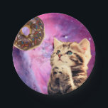 "Donut Praying Cat Paper Plate<br><div class=""desc"">cat&#160;, &quot;praying cat&#160;&quot;, &quot;cat praying&quot;&#160;, &quot;cat donut&quot;&#160;, &quot;cool kitty&quot;&#160;, &quot;kittens in space&quot;&#160;, &quot;cat purple&quot;&#160;, &quot;cosmic cat&quot;, &quot;cat galaxy&quot;&#160;, &quot;donut cat&#160;&quot;, pussy&#160;, star&#160;, cats&#160;, beautiful&#160;, galaxy&#160;, funny&#160;, space&#160;, animal&#160;, stars&#160;, cosmos&#160;, cute&#160;, kittens&#160;, pet&#160;, purple&#160;, kitty&#160;, kitten&#160;, nebula&#160;, universe&#160;, donut&#160;, meow&#160;, constellation&#160;, artwork&#160;, cosmic&#160;, feline&#160;, &quot;space cat&quot;&#160;, &quot;into space&quot;&#160;, &quot;meme cat&quot;&#160;, &quot;in...</div>"