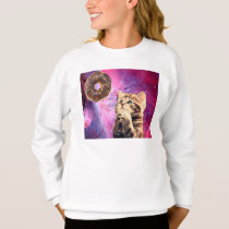 Donut Praying Cat Sweatshirt