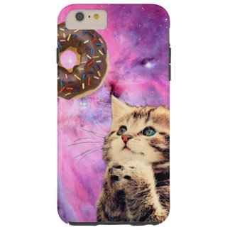 Donut Praying Cat Tough iPhone 6 Plus Case