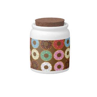 Donut Round Candy Jar