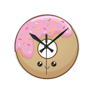 Donut Round Wallclock
