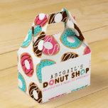Donut Shop Birthday Party Favor Box
