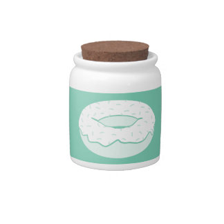 donut sprinkles candy jar