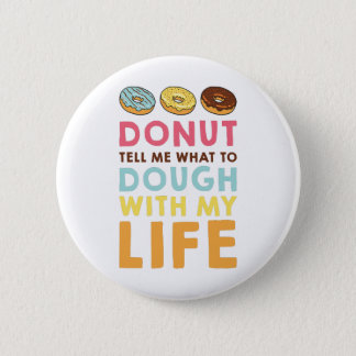 Donut Tell Me Button