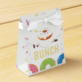 Donut themed Birthday Party Guest Thank You Favor Box