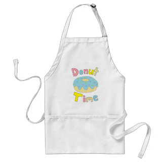 Donut Time Adult Apron