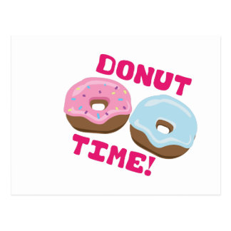Donut Time Postcard