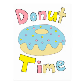 Donut Time Post Cards