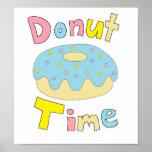 Donut Time Print