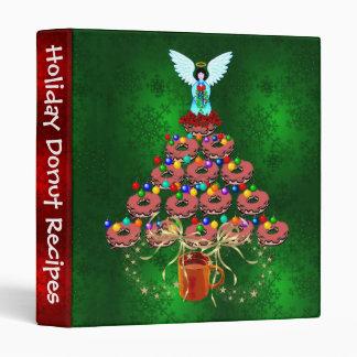 Donut Tree 3 Ring Binder