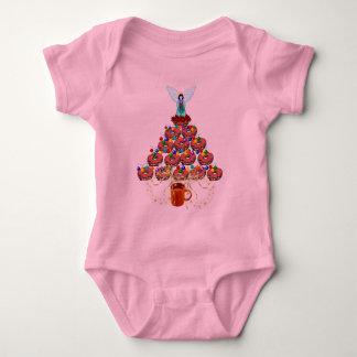 Donut Tree Baby Bodysuit