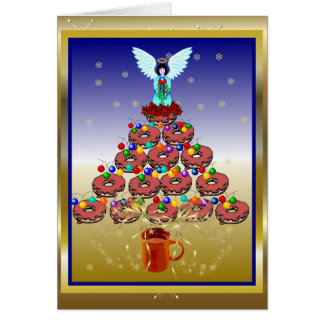 Donut Tree Greeting Cards