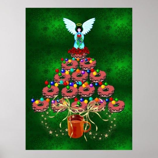 Donut Tree Poster