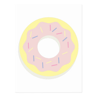 Donut with Sprinkles Postcard