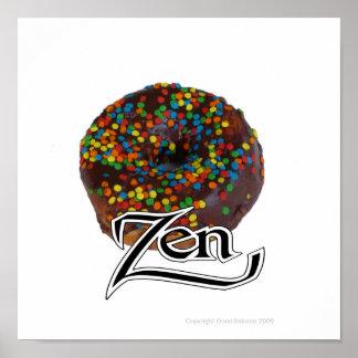 Donut Zen Poster