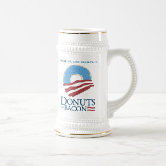 Donuts and Bacon: Taste we can Believe in Beer Stein
