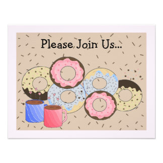 Donuts and Coffee Announcement