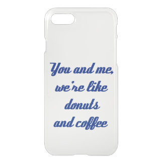 Donuts and Coffee iPhone 7 Case