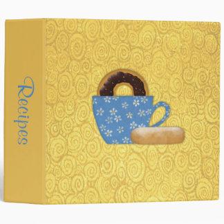 Donuts and Coffee Recipe Binder