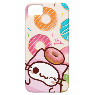 donuts bae bae cats iPhone SE/5/5s case