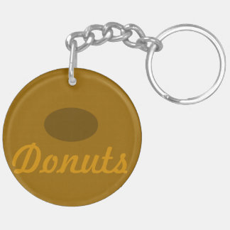 Donuts Bakery Delights Keychain