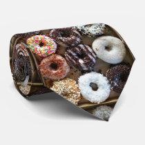 Donuts by the Dozen Neck Tie