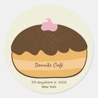 Donuts Cafe Sticker