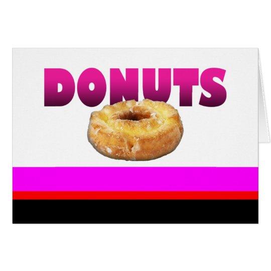 Donuts... Card
