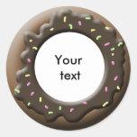 donuts classic round sticker