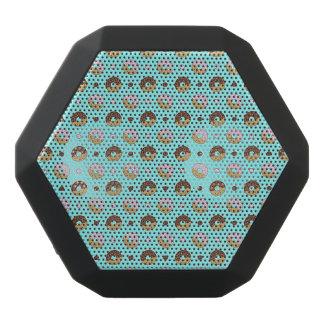 Donuts Design Black Bluetooth Speaker