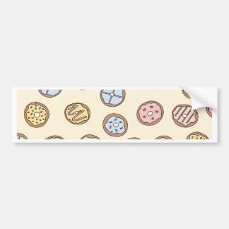 Donuts Donut Food Love Bumper Sticker