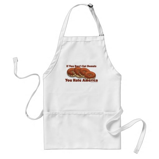 Donuts For America Apron