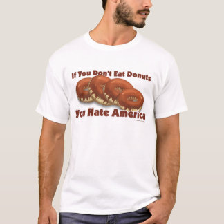 Donuts For America T-Shirt