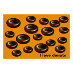 Donuts for dad print