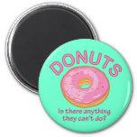 Donuts Fridge Magnet