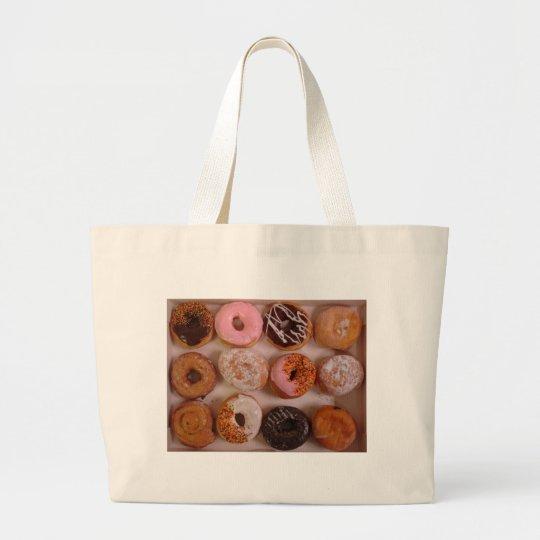DONUTS! LARGE TOTE BAG